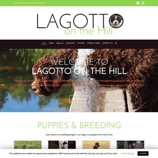 Lagotto on the Hill - Lagotto Romagnolo Breeder - West Coast Canada