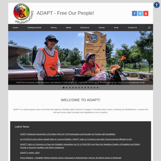 ADAPT – Free Our People! – FREE OUR PEOPLE!