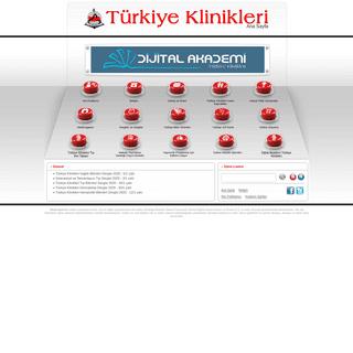 Ana Sayfa - Türkiye Klinikleri