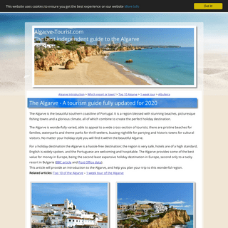 The Algarve, Portugal a Tourism and Holiday Guide - Updated for 2020!