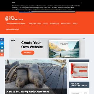 DIYMarketers - Low cost DIY marketing, branding, tools, tips strategies