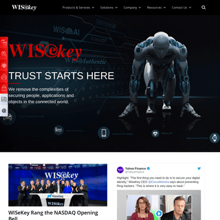 WISeKey - The Human-Driven Technology Platform