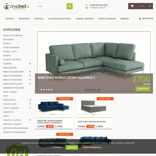 Internetowy sklep meblowy - I-MEBEL.PL