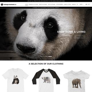 EndangeredAnimals.co - Animal Clothes - Animal Clothing