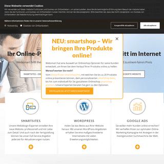 Websmart - Webdesign + Online-Marketing - Website erstellen