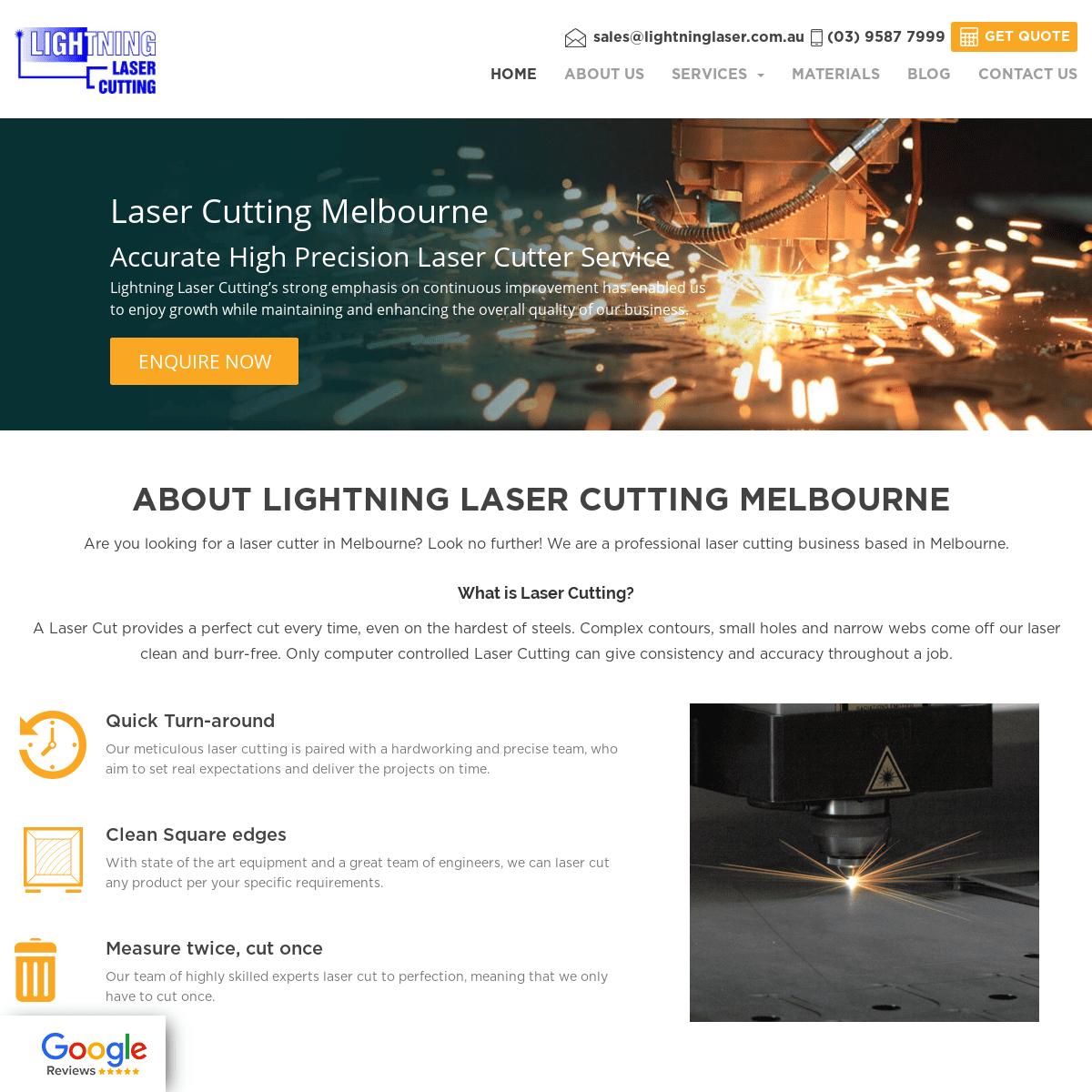 Laser Cutting Melbourne - Lighting Laser Cutting