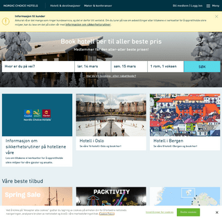 Nordic Choice Hotels - over 200 hotell i hele Norden