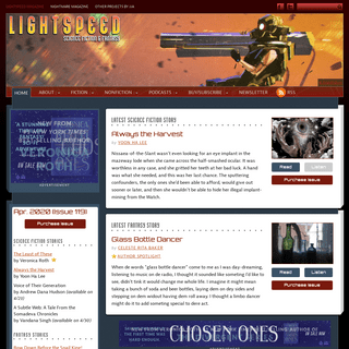 Lightspeed Magazine - Science Fiction & Fantasy