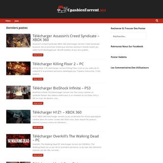 Torrent à télécharger sur Cpasbien - Telecharger En Torrent De Jeux Et Films
