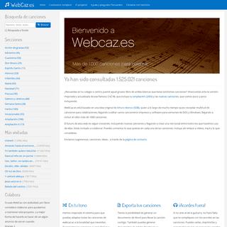 WebCaz.es - Cancionero litúrgico 2020