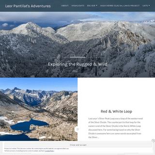 Leor Pantilat's Adventures – Exploring the Rugged & Wild