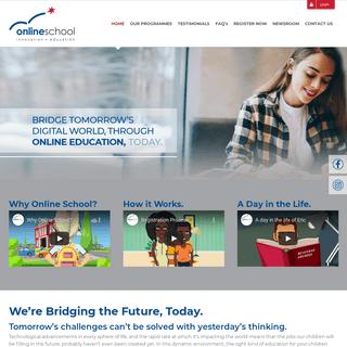 online school – online education, today