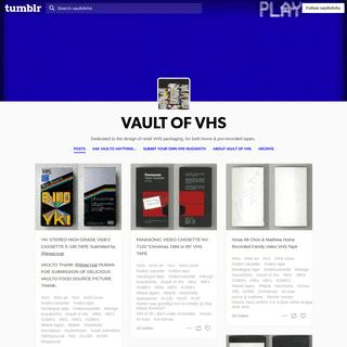 ArchiveBay.com - vaultofvhs.tumblr.com - VAULT OF VHS