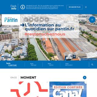 Accueil - Ville de Pantin