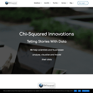 Homepage - Chi-Squared Innovations