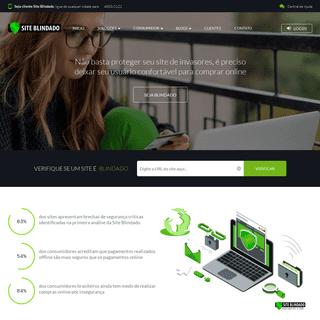 Site Blindado - Homepage