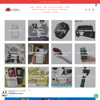 TUZZUT.com - Best Online Shopping Website in Qatar with Amazing Offers – TUZZUT Qatar Online Store