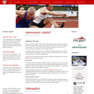 ArchiveBay.com - kif-atletik.dk - Hjem