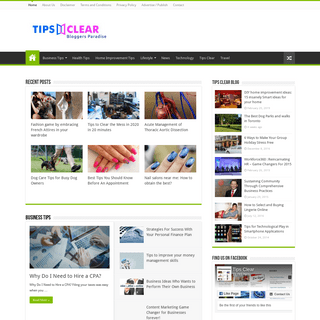 Tips Clear Blog