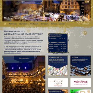 Home- Stuttgarter Weihnachtsmarkt 27.11. - 23.12.2019