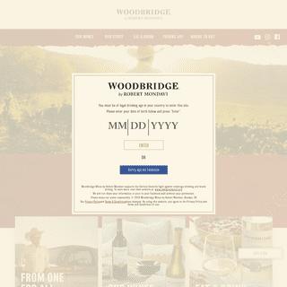 Woodbridge by Robert Mondavi - Red, Blush & White Wines - Woodbridge by Robert Mondavi - Red, Blush & White Wines - Woodbridge B