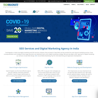 SEO Services India, Best SEO Services Agency in India - Techmagnate