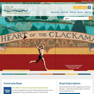 Home Page - Estacada, Oregon
