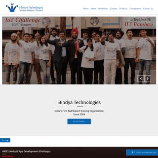 i3indya™ Technologies - IoT - Ethical Hacking Workshops and Training Company(India)