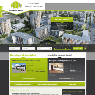 ArchiveBay.com - stafosreal.cz - Úvod - Reality a nemovitosti - Stafos Real
