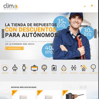 ArchiveBay.com - climarepuestos.es - Repuestos de climatizacion, Calderas de gas y gasoil y Termostatos