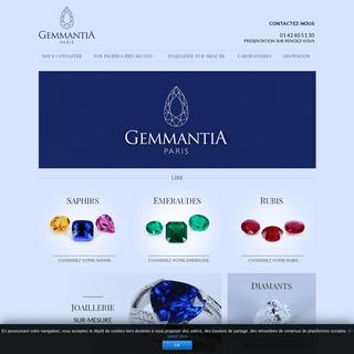 Pierres précieuses, vente pierres précieuses et création de bijoux sur-mesure - Gemmantia