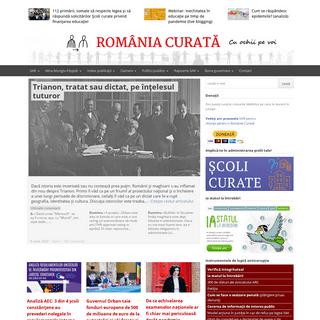 România curată - Vino în comunitatea noastră de bună guvernare!