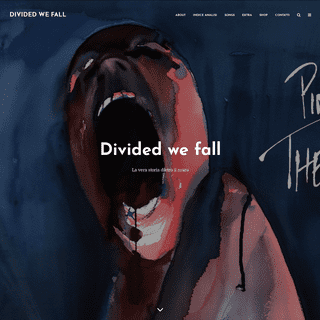 Pink Floyd- The Wall Analisi critica - Divided we fall