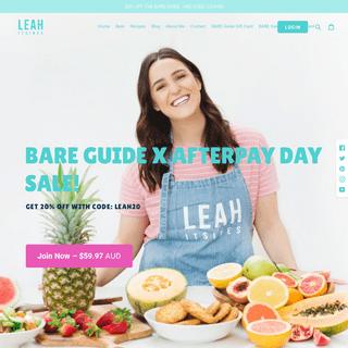 ArchiveBay.com - leahitsines.com.au - Leah Itsines - Healthy Cooking Made Easy - 300+ Quick & Tasty Recipes – LEAH ITSINES
