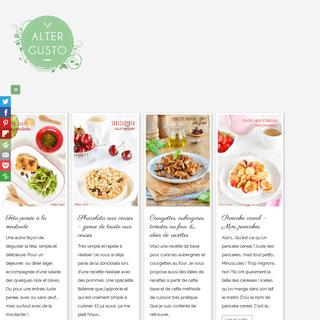 Alter Gusto - Recettes de cuisine
