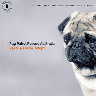 ArchiveBay.com - pugpatrolrescueaustralia.com.au - Home - Pug Patrol Rescue Australia