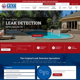 Non-Invasive Leak Detection Services - American Leak Detection