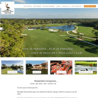 Home - Pelicans Nest Golf Club