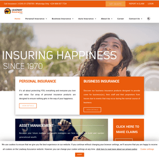 Home - Leadway Assurance Company Limited