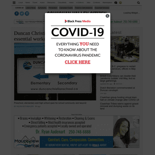 Cowichan Valley Citizen – Cowichan Valley News