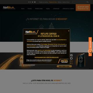 Netlife - Internet de Ultra Alta Velocidad