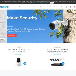 Reolink- Global Innovator in Smart Home Security and Camera Solutions