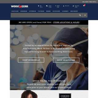 Workwear You Need, Brands You Trust – Workwear & Healthcare Clothes - Work 'N Gear