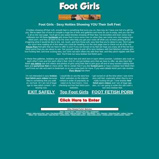 Feet Fetish Porn! Footjobs, foot worship & Lesbian Feet Foot Fetish Porno!