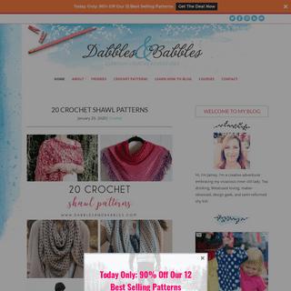 ArchiveBay.com - dabblesandbabbles.com - Dabbles & Babbles - Everyday creative adventures
