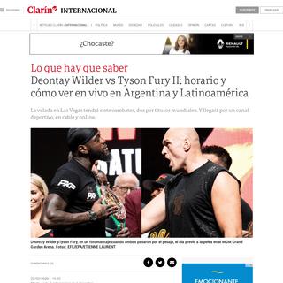 ArchiveBay.com - www.clarin.com/internacional/deportes/pelea-wilder-vs-fury-horario-ver-vivo-argentina-resto-latinoamerica_0_XVNBrV4l.html - Deontay Wilder vs Tyson Fury II- horario y cómo ver en vivo en Argentina y Latinoamérica - Clarín