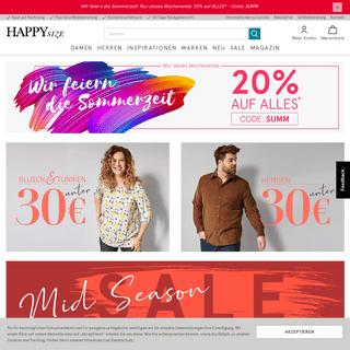 Plus Size-Fashion – XXL-Mode online - happy-size.de
