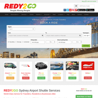 Redy2Go - Sydney Airport Shuttle from $11 - Cheaper than Train