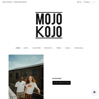 Mojo Kojo – www.mojokojo.com