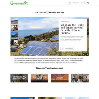 ArchiveBay.com - greentumble.com - Greentumble